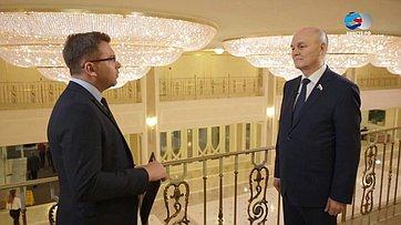 М. Щетинин обитогах встречи Председателя СФ стружениками социальной сферы села