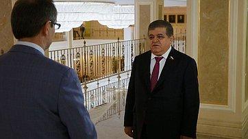 В. Джабаров оновом механизме урегулирования конфликта вДонбассе