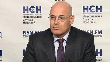 Владимир Круглый принял участие в пресс-конференции «Иностранные лекарства не пускают в Россию. Угрозы и последствия» в пресс-центре информационного агентства «Национальная служба новостей»