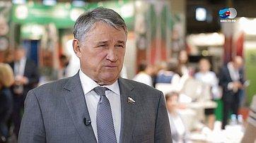Ю. Воробьев оЧетвертом форуме регионов России иБеларуси