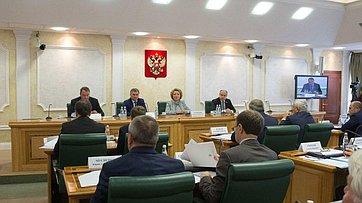 В.Матвиенко назаседании Оргкомитета поподготовке 137-й Ассамблеи МПС