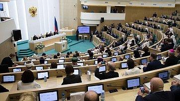 Выступление В.Матвиенко наоткрытии VI Рождественских парламентских встреч натему «Нравственные ценности ибудущее человечества»