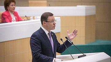 На457-м заседании СФ выступили руководители Самарской области