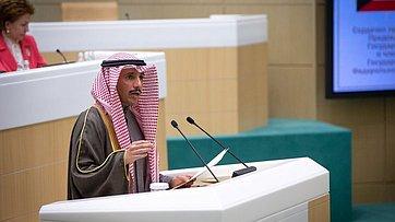 Выступление Председателя Национального собрания Государства Кувейт Марзука Аль-Ганима