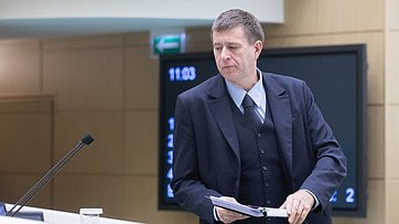 Врамках «Правительственного часа» вСФ выступил Министр юстиции РФ Александр Коновалов