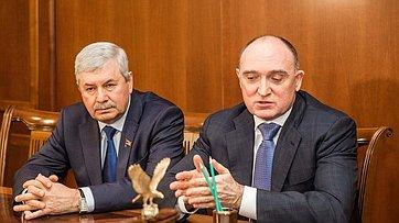 Встреча спикера СФ с руководством Челябинской области