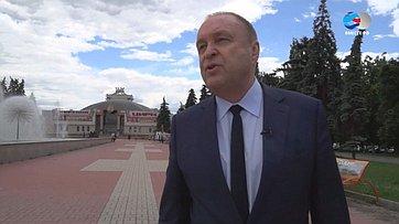 Знакомьтесь, сенатор Виталий Богданов. Передача телеканала «Вместе-РФ»