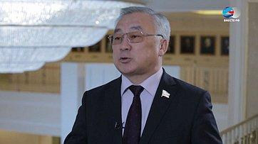 Б. Жамсуев оперспективах социально-экономического развития Забайкальского края