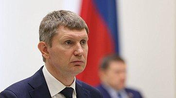 Выступление Министра экономического развития РФ Максима Решетникова назаседании Совета Федерации