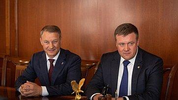 Встреча В.Матвиенко сруководством Рязанской области