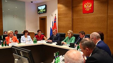Выступление Председателя СФ вВолгоградской областной Думе