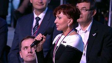 Т. Кусайко навстрече сПрезидентом РФ В. Путиным