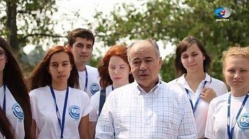 И. Умаханов выступил слекцией наВсероссийском молодежном форуме «Территория смыслов наКлязьме»