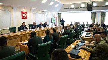 Брифинг Комитета СФ пообороне ибезопасности для военных атташе иностранных государств. Запись трансляции от28марта 2019года