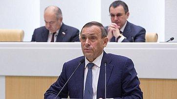 Выступление Главы Марий Эл А.Евстифеева вСовете Федерации