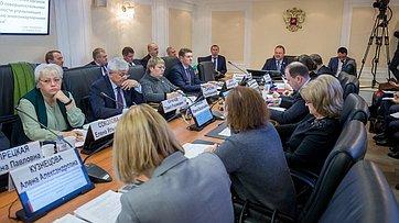 Совещание Комитета СФ пофедеративному устройству, региональной политике, местному самоуправлению иделам Севера. Запись трансляции от21января 2019года