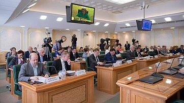 Заседание Совета порегиональному здравоохранению при СФ. Запись трансляции от16июля 2018г