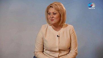 Л. Гумерова оVI Форуме регионов России иБеларуси