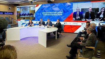 Видеомост Москва– Дамаск– Астана «Межпарламентский диалог омирном будущем Сирии»