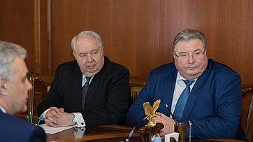 Встреча Председателя СФ сруководителями Республики Мордовия