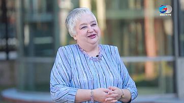 И. Тихонова оВтором Евразийском женском форуме
