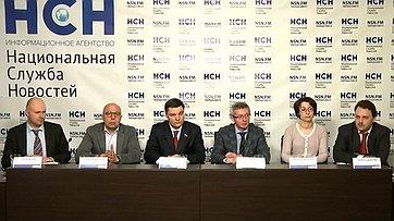 Олег Казаковцев принял участие в пресс-конференции «Валютная ипотека: рекомендации банкам заменят законом?» в пресс-центре информационного агентства «Национальная служба новостей»