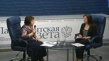 Елена Бибикова рассказала обизменении размера пенсий в2017году врамках специального цикла «Пенсионный ликбез» впресс-центре «Парламентской газеты»