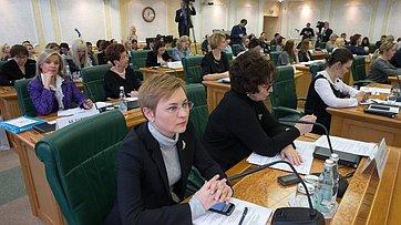 Встреча Председателя Совета Федерации сженщинами–предпринимателями. Запись трансляции от6декабря 2017г