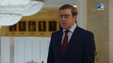А. Майоров оситуации пообеспечению продуктами граждан России