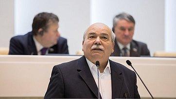 Выступление Председателя Парламента Греции Н.Вуциса вСовете Федерации
