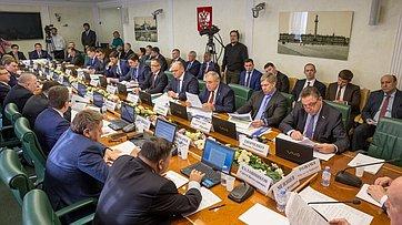 Расширенное заседание Комитета СФ поэкономической политике. Запись трансляции от12марта 2019года