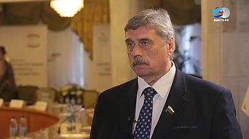 М. Козлов осотрудничестве регионов России иДонбасса