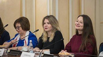 Встреча Председателя СФ сженщинами— лидерами волонтерских проектов. Запись трансляции от5марта 2018г