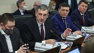 Расширенное заседание Комитета СФ пофедеративному устройству, региональной политике, местному самоуправлению иделам Севера. Запись трансляции от15февраля 2021года