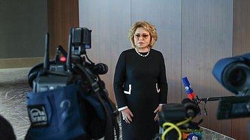 Валентина Матвиенко подвела итоги визита вАзербайджан