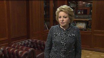 В. Матвиенко озаявлении премьер-министра Великобритании Т.Мэй