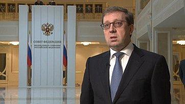 Комментарий сенатора Алексея Майорова поитогам встречи сПрезидентом РФ