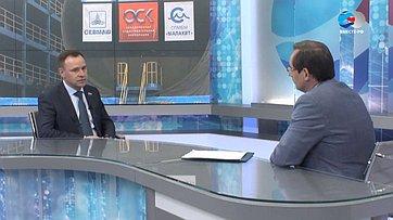Глава заксобрания Архангельской области В.Новожилов осоциально-экономическом развитии региона