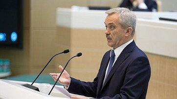 Врамках «Дней субъекта» вСовета Федерации выступили губернатор испикер парламента Белгородской области