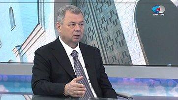 Губернатор Калужской области А.Артамонов осоциально-экономическом развитии региона