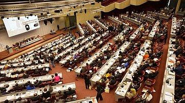 Делегация Совета Федерации принимает участие вАссамблее МПС