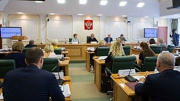 Выступление Председателя СФ В. Матвиенко назаседании Организационного комитета второго Евразийского женского форума