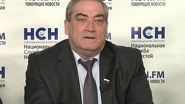 Пресс-конференции «Арктика и приоритетные интересы России» в пресс-центре информационного агентства «Национальная служба новостей»