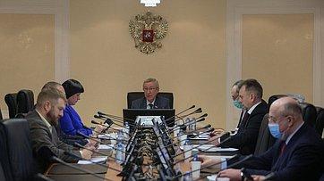 Заседание Временной комиссии СФ позащите государственного суверенитета ипредотвращению вмешательства вовнутренние дела РФ. Запись трансляции от24декабря 2020года