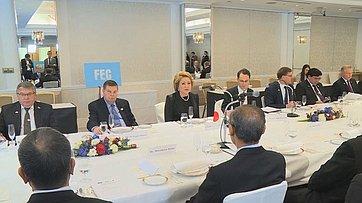 Встреча делегации СФ спредставителями организации «Совет дружественных обменов»