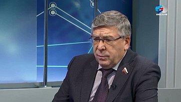 В. Рязанский осоциальных вопросах наповестке дня Совета Федерации
