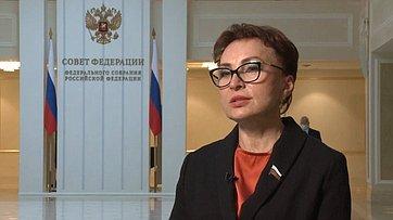 Комментарий Татьяны Кусайко поитогам встречи Президента РФ ссенаторами