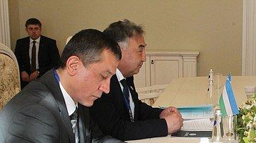 Председатель СФ провела встречу сзаместителем спикера Законодательной палаты парламента Узбекистана