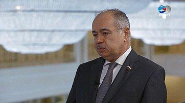 И.Умаханов оСанкт-Петербурге— городе 137-й ассамблее МПС