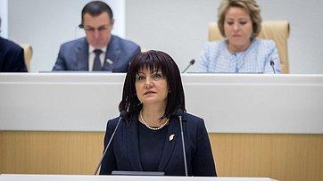 Выступление Председателя Народного Собрания Республики Болгарии Цветы Караянчевой